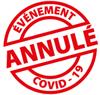 Événement annulé covid19